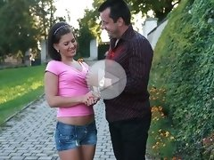 FLASH !!! Couple meets virile stranger and husband invites him to pound his hot wife